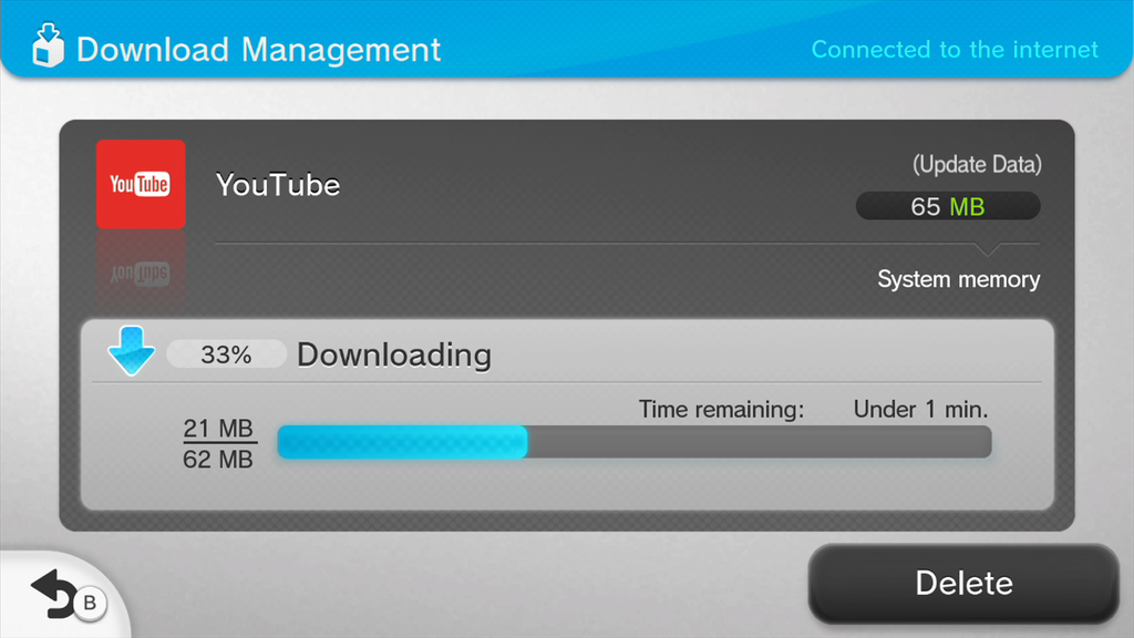 Updating wii u without internet