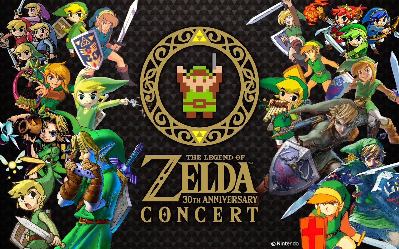 This Past Weekend Nintendo Hosted A Special 30th Anniversary Zelda Concert In Kyoto Japan It Was Big Event As Key Staff Involved With The Series Were