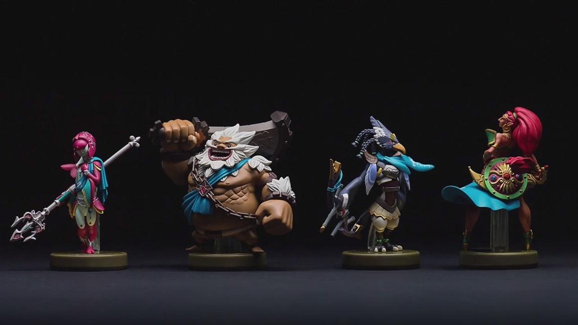 Zelda Breath Of The Wild Champions Amiibo Back Up On Amazon Nintendo Everything