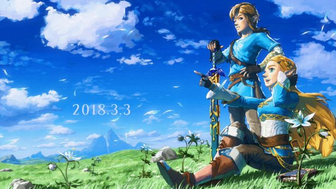 The Legend of Zelda - Breath of the Wild - Arte Especial - Aniversário de 1 Ano