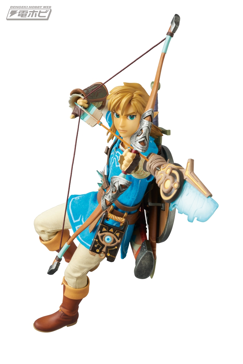 Our first real look at Medicom's new Link figure from Zelda: Breath of the Wild