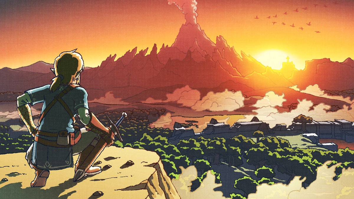 Zelda Breath Wild Art Super Smash Bros Ultimate Review