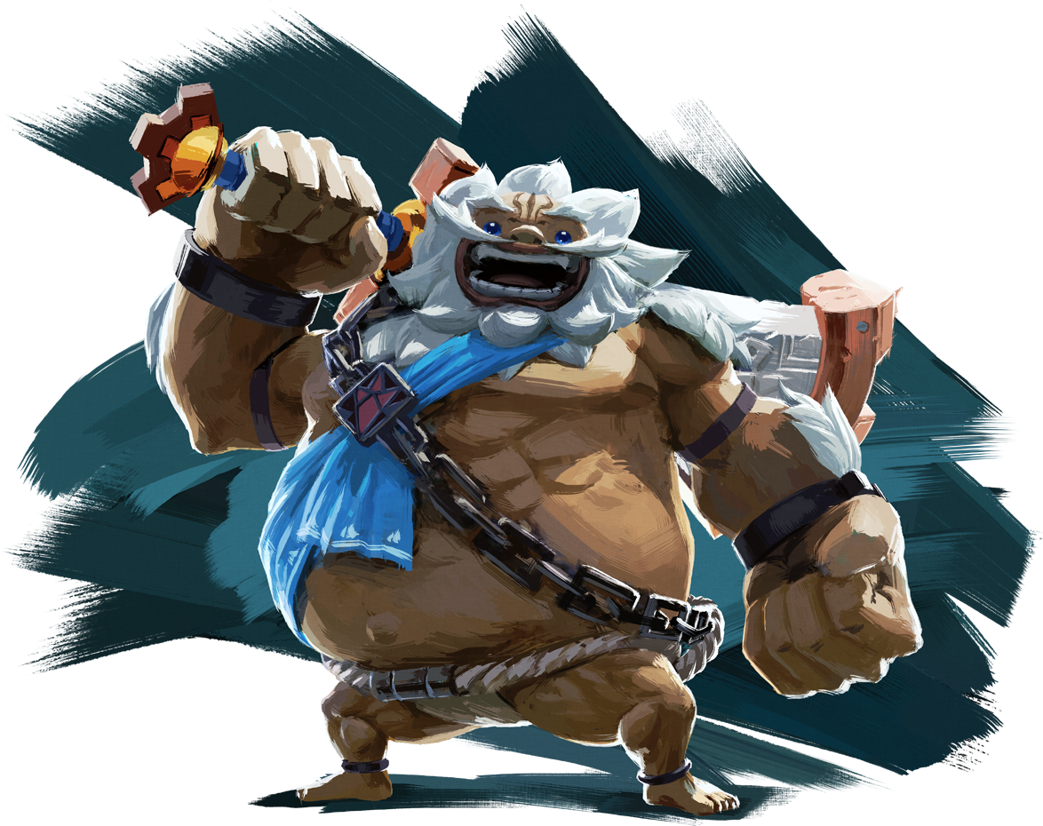 New High Res Artwork And Official English Names Of Some Zelda Breath Of The Wild Characters