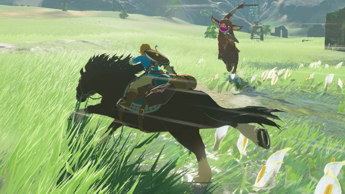 Glitch lets your horse continuously sprint in Zelda: Breath of the Wild
