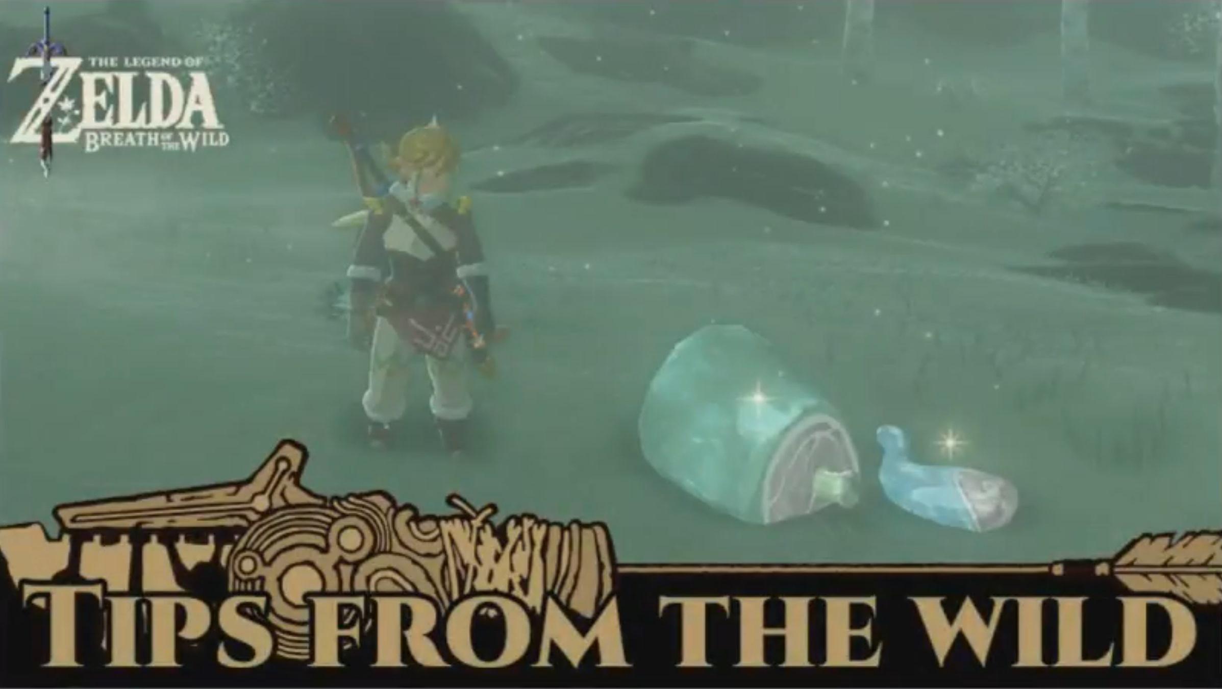 Next Zelda: Breath of the Wild item distribution live on