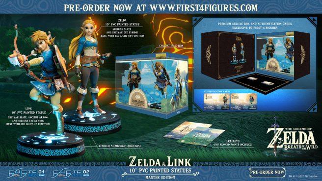Zelda: Breath of the Wild statues