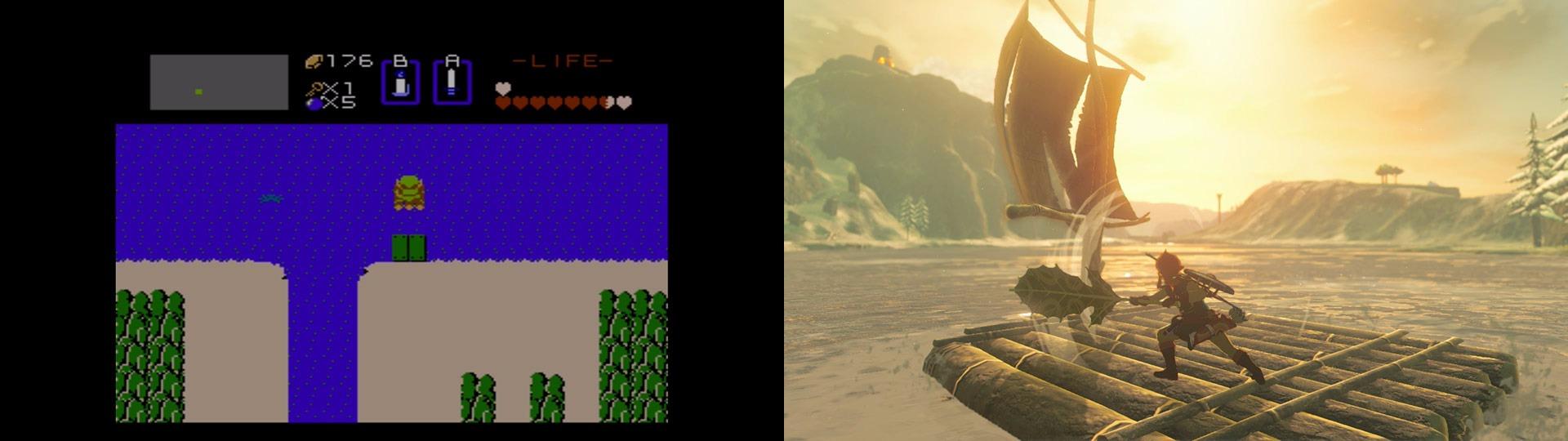 Nintendo Compares The Original Zelda To Breath Of The Wild