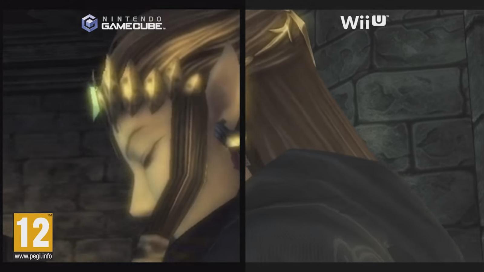 zelda twilight princess hd gamecube and wii u comparison from