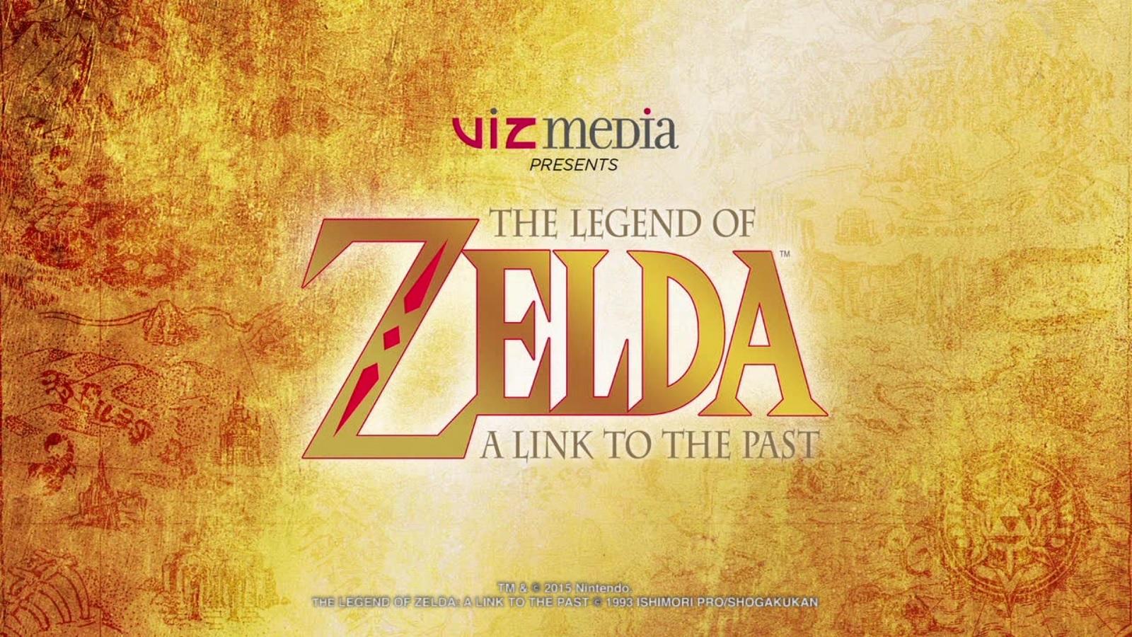 Viz Media S Zelda A Link To The Past Graphic Novel Panel At Sdcc