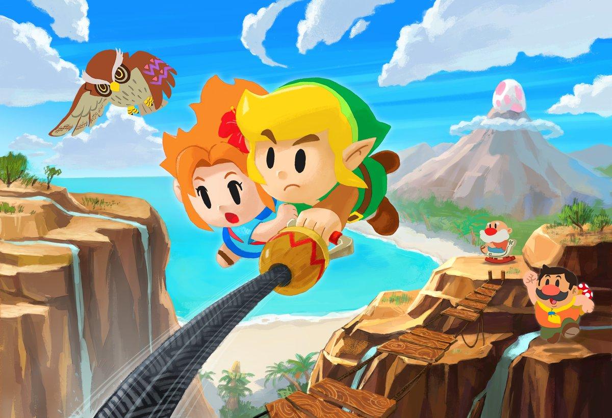 Aonuma says Miyamoto asked him to include Mario Maker-like gameplay in Zelda, why Link's Awakening doesn't use analog input