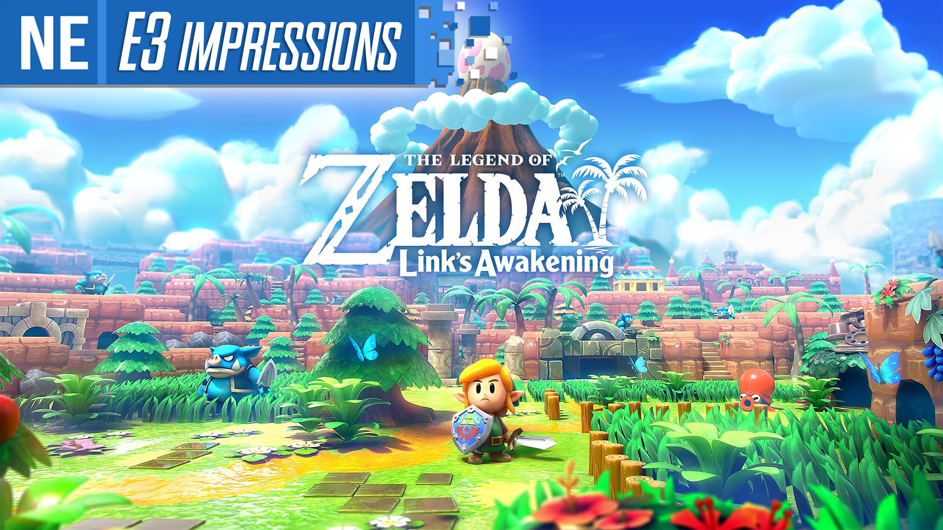 E3 2019 Impressions The Legend Of Zelda Link S Awakening