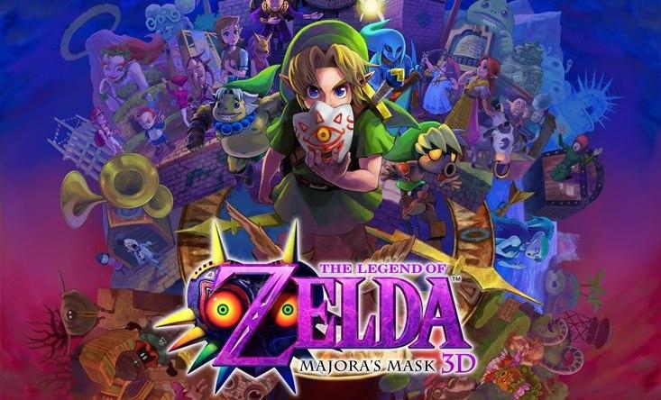 Zelda MajoraS Mask 3ds