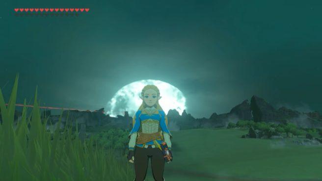 The Legend of Zelda: Breath of the Wild - Zelda mod