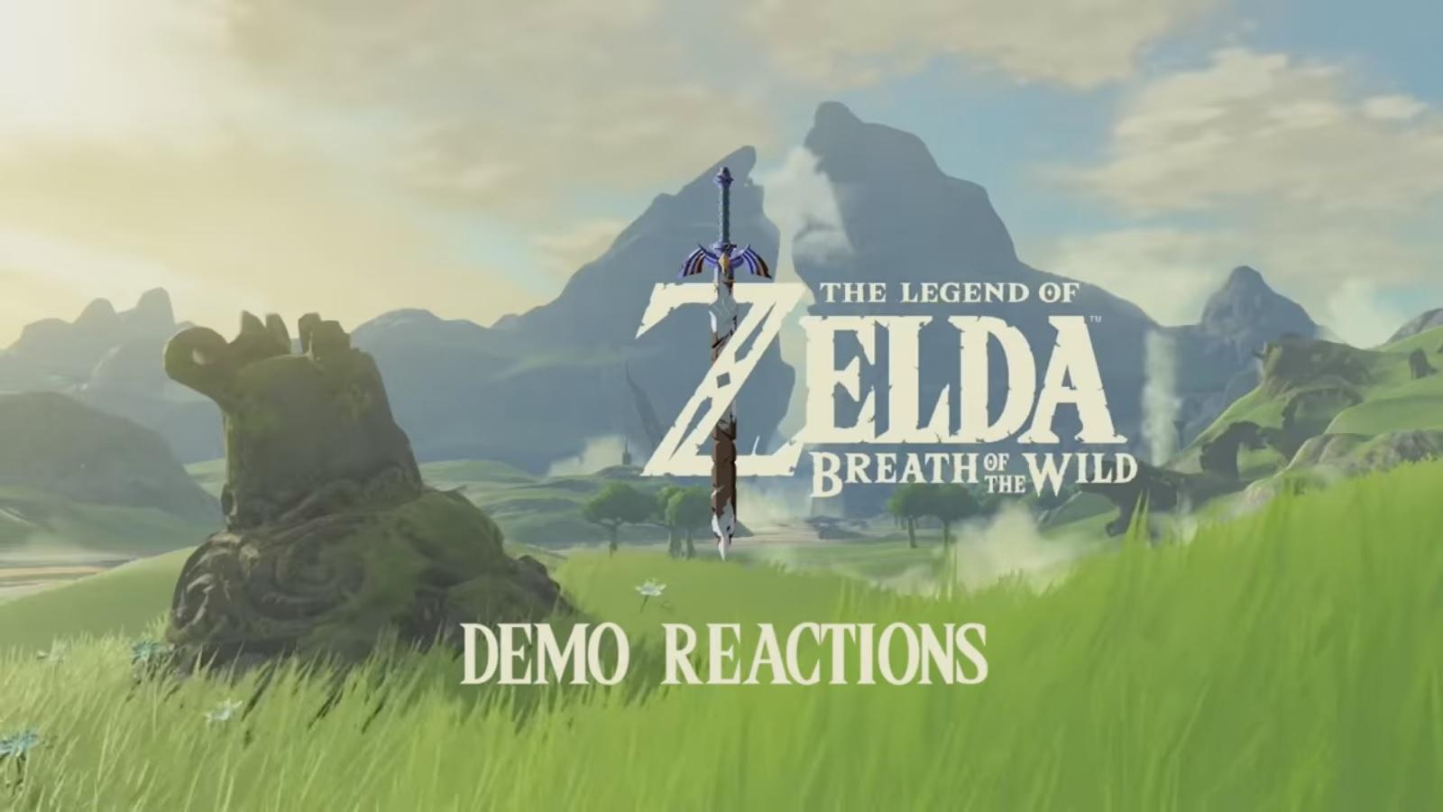 The Legend of Zelda: Breath of the Wild - demo reactions