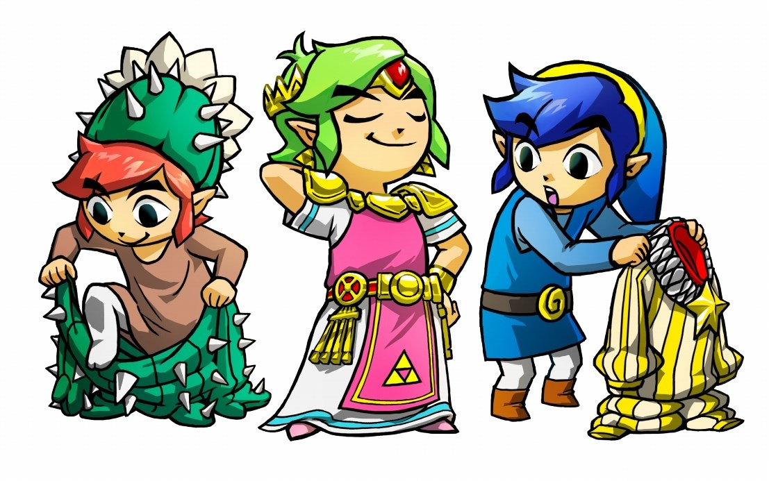 Zelda: Tri Force Heroes has a special costume that can only be obtained through local multiplayer