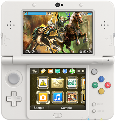 Japan Getting A Zelda Twilight Princess 3ds Theme Nintendo Everything