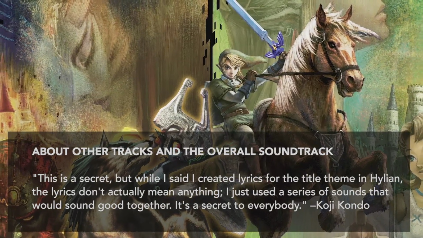 the music of zelda: twilight princess hd - hyrule field and midna
