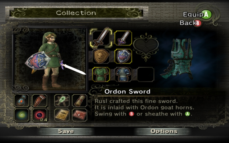 Zelda: Twilight Princess HD supports Miiverse stamps