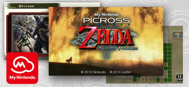 My Nintendo Picross - The Legend of Zelda: Twilight Princess