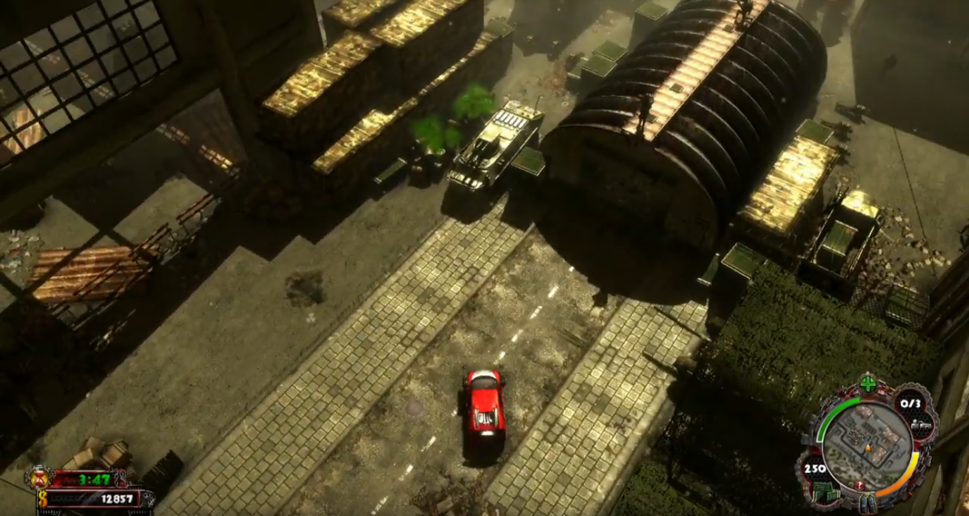 Over 30 minutes of Zombie Driver: Immortal Edition footage